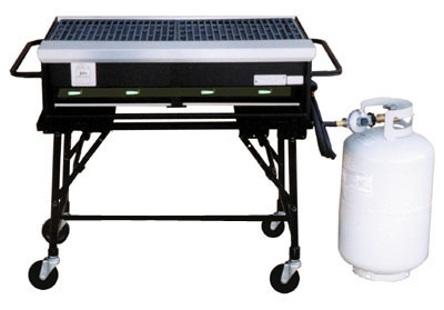 Propane Grill <br> Rental Fee: 100$ <br>  		Propane: + $26.22 for a full tank   <br>  (add 10% damage Waiver Fee)