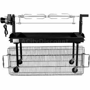 Charcoal Rotissery Grill <br> Rental Fee: 55$  <br>  (add 10% damage Waiver Fee)