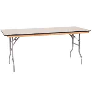 8 Foot Plywood Table <br>  		Rental Fee: 9$ <br>  (add 10% damage Waiver Fee)