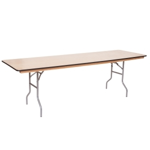6 Foot Plywood Table <br> 		Rental Fee: 8$ <br>  (add 10% damage Waiver Fee)